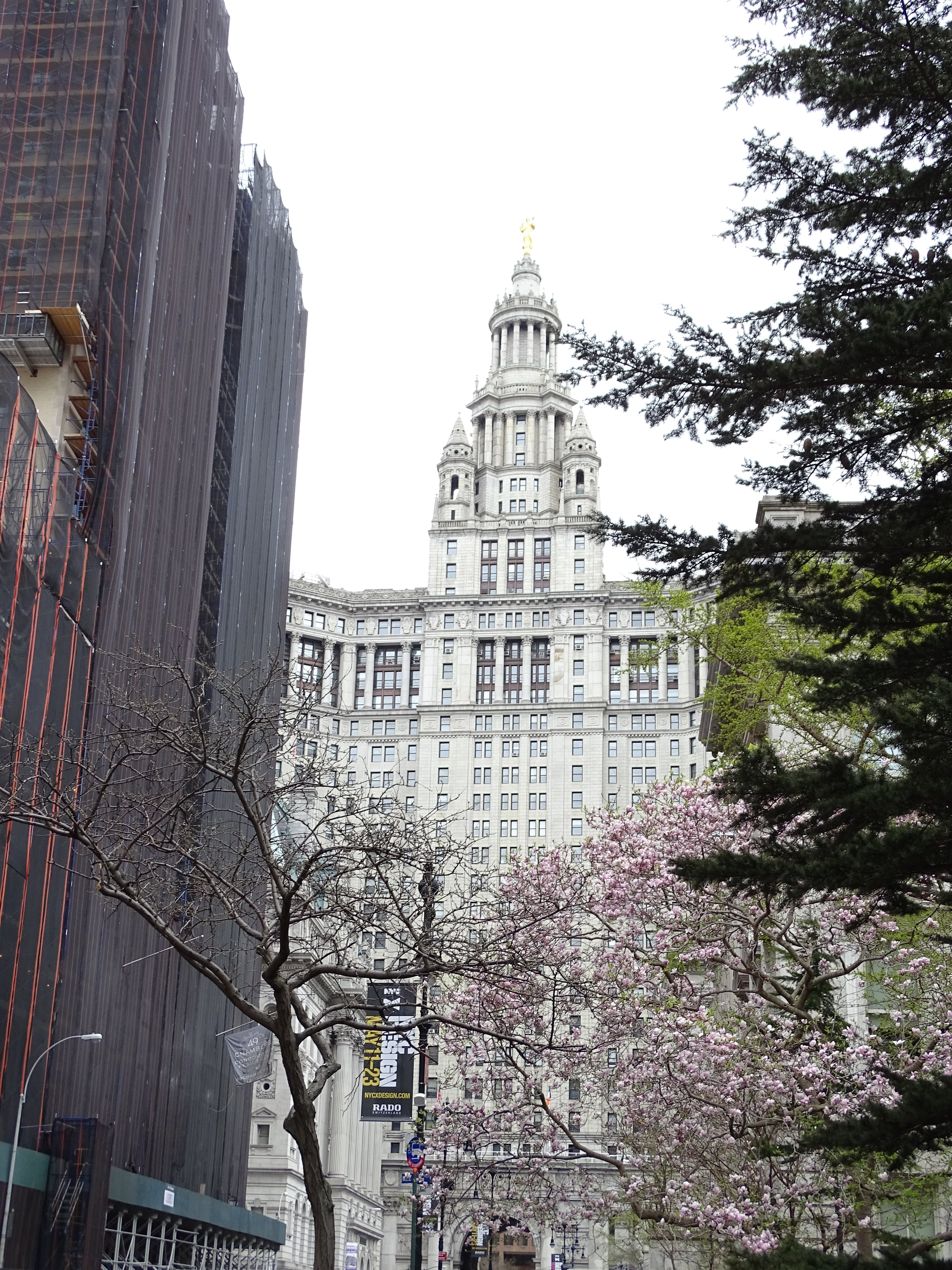 Das Manhattan Municipal Building
